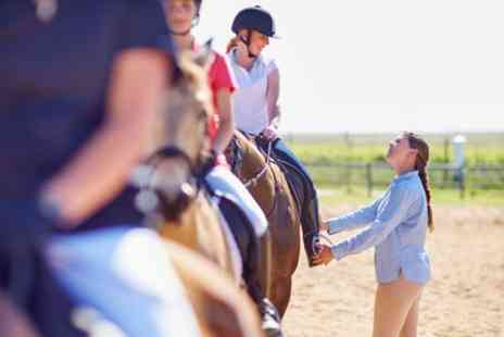 Milndavie Farm - Horse Riding Lessons for One or Two - Save 40%