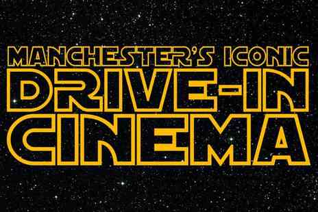 Iconic Drive In Cinema - Ticket for up to five people to the Manchester Iconic Drive In Cinema Superhero Weekend - Save 49%