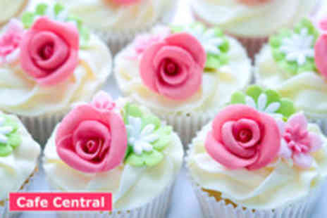 Cafe Central - 2 Hour vintage cupcake making class - Save 72%