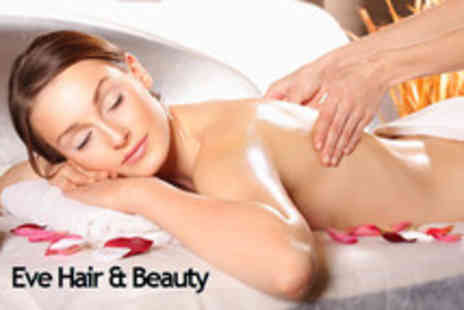 Eve Hair and Beauty - 40 minute Full body aromatherapy massage - Save 63%