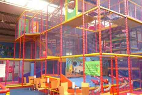 Jellybeans Play Centre - Soft Play Entry with Drinks for Two or Four Children - Save 41%
