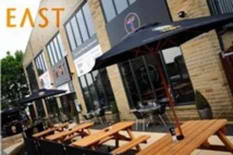 East Bar Lounge Grill - Two Course Indian Meal For Two With Cocktails - Save 70%