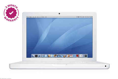 "Megamax Marketing - Refurbished 13"" 160GB 2GB RAM Apple MacBook with 80GB external hard drive included - Save 62%"