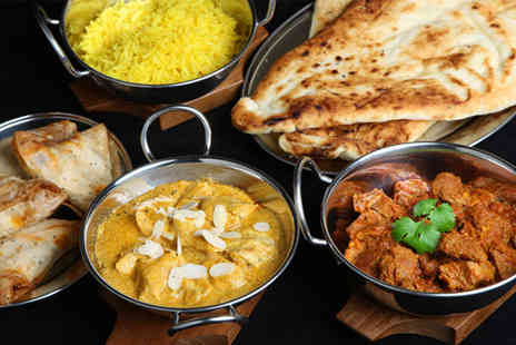 Jamuna - Four course Indian meal, including a starter, main, side dish and rice - Save 65%