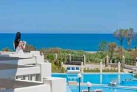 Chryssana Hotel - In Crete Seven Night Stay For Two With Breakfast - Save 50%