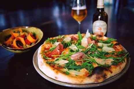 Tavistock Italia - Italian dining for two or four people with a glass of house wine, bottle of beer or soft drink each - Save 30%