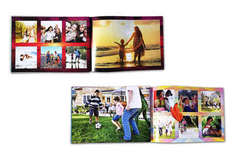 Unibind Photo Books - 20 page personalised photobook - Save 50%