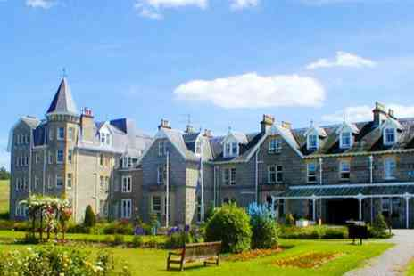Nethybridge Hotel - One Night Stay for Two with Breakfast, Dinner, Fizz and Late Check Out - Save 55%