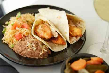 El Guaca Mexican Grill - Two Course Mexican Meal with Wine for Two or Four - Save 44%