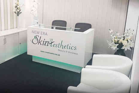 New Era Skin Aesthetics - Six laser hair removal sessions on one or three area - Save 0%