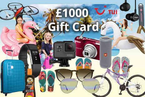 HCi Distribution - Holiday mystery deal Havianas, Veho, Ray Ban, Fitbit, TUI, GoPro Trunki, Nikon & More - Save 0%