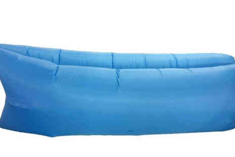 Dealberry - Inflatable Lounger Air Bed 5 Colours - Save 50%