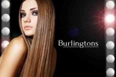 Burlingtons - Keratin Hair Treatment With Wash and Finish - Save 41%