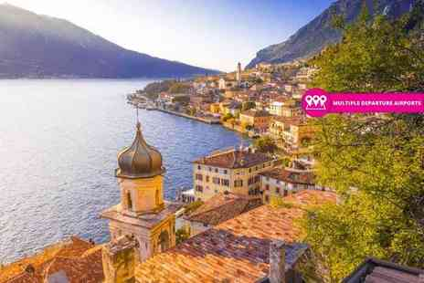 Weekender Breaks - Two or three night Lake Garda getaway with breakfast and return flights - Save 39%