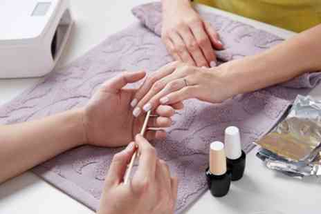 Poppinghole Farm Spa - Gel Polish Manicure, Pedicure or Both - Save 60%