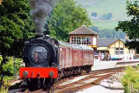 Embsay and Bolton Abbey Steam Railway - Bolton Abbey return steam train journey for 1 adult - Save 45%