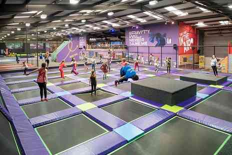 Air Unlimited - One hour trampoline park entry - Save 37%