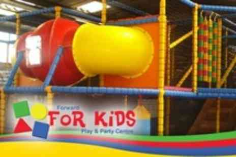 Forward For Kids Play And Party Centre - Two Passes Each For Two With Meal Each - Save 61%