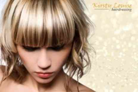 Kirsty Louise Hairdressing - Half Head Highlights or Full Head Colour With Restyle and Finish - Save 61%