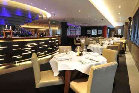 Marco Pierre White Steakhouse - Two Course Dinner with Glass of Wine for Two - Save 36%