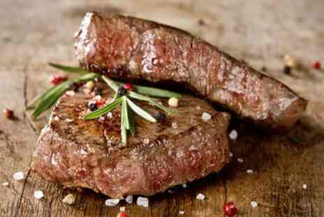 Rigsbys Piano Cafe - 10oz Rib Eye Steak with Prosecco for One, Two or Four - Save 48%