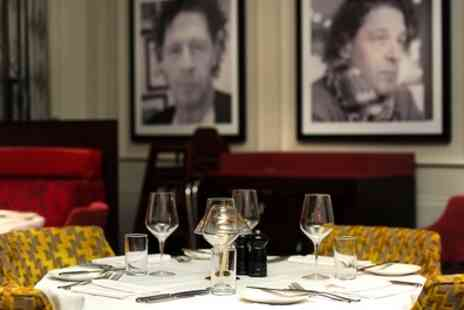 Marco Pierre White Steakhouse - Two Course Lunch, Optional Glass of Wine for Two - Save 62%