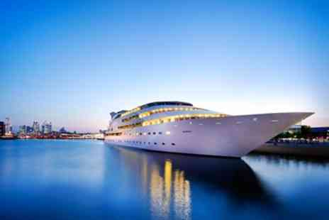 Sunborn London - Swanky London superyacht stay with breakfast - Save 0%