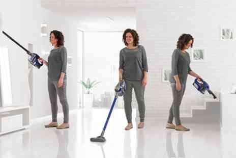 Groupon Goods Global GmbH - MaxiVac Cordless Twin Cyclone Vacuum With Free Delivery - Save 63%