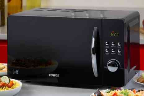 Groupon Goods Global GmbH - Tower 20 Litre Digital Microwave T24012 With Free Delivery - Save 50%