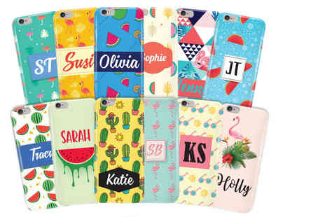 2P Gifts - Personalised summer iPhone case - Save 64%