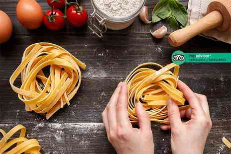 The Italian Club - Pasta making class for one person with lunch and a beer, soft drink or glass of wine - Save 42%