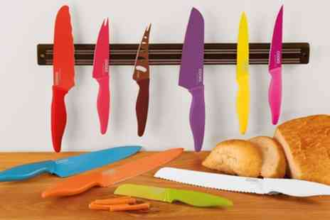 Groupon Goods Global GmbH - Cooks Professional Ten Piece Knife Set - Save 87%