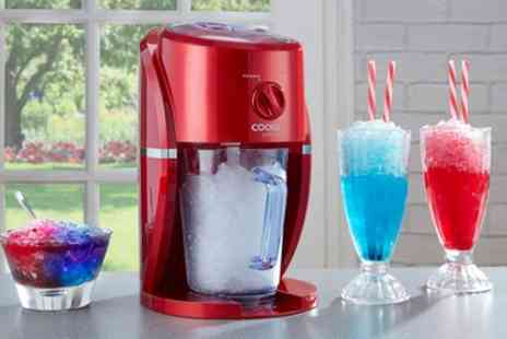 Groupon Goods Global GmbH - Cooks Professional Electric Ice Slushy Machine With Stirrer - Save 50%