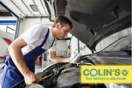 Colins MOT & Service - 54 Point Car Service With Oil and Filter Change - Save 72%