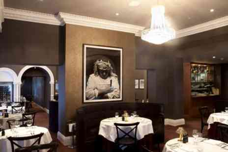 Marco Pierre White Steakhouse - Two Course Dinner with Glass of Wine Each for Two - Save 36%