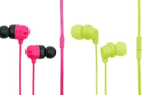 Groupon Goods Global GmbH - One or Two Pairs of JVC Lightweight Earphones - Save 0%