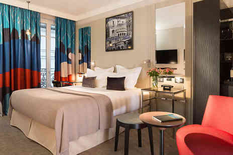 Les Matins de Paris - Four Star Colourful Design 900m from the Moulin Rouge For Two - Save 73%