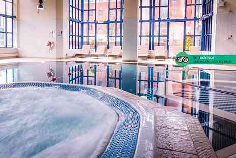 Crowne Plaza Hotel - Spa day for two people with a traditional afternoon tea - Save 43%