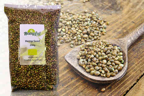 Forever Cosmetics - 200g bag of hemp seeds - Save 50%