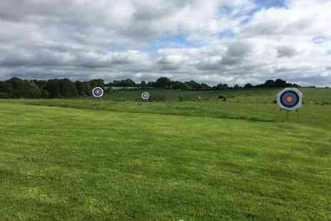 Thurlaston Airgun and Archery Centre - One hour archery experience for two or family of four - Save 80%