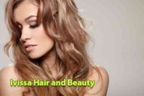 Ivissa Hair & Beauty - Highlights, cut & condition & GHD styling - Save 80%