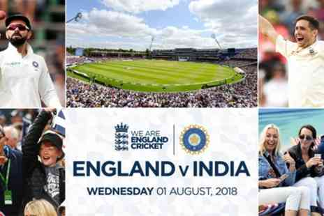 Warwickshire Cricket Club - England v India Ticket on 1 August - Save 0%