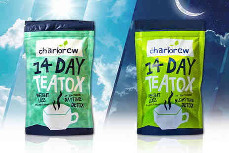 Jynx Direct - 14 day or night Teatox teabags or day and night bundle - Save 53%