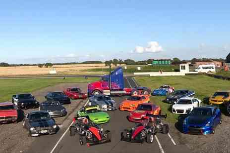 Car Chase Heroes - Three lap supercar driving experience with a choice of over 20 cars - Save 61%