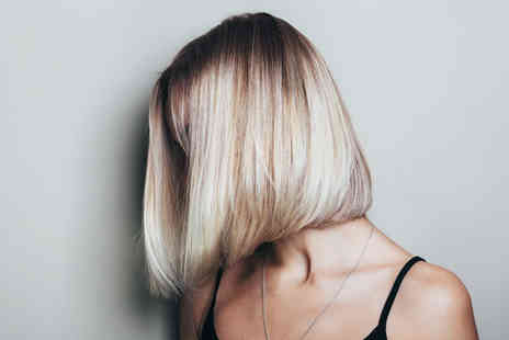 KV Hair - Cut, blow dry and a half head of highlights or a full head of colour - Save 50%
