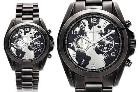 Mimo Deals - Unisex Michael Kors MK6271 black Bradshaw chronograph watch - Save 57%
