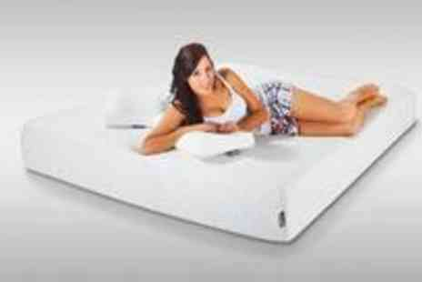 Hypnia Mattresses - Luxurious king size memory foam mattress and pillow set - Save 76%