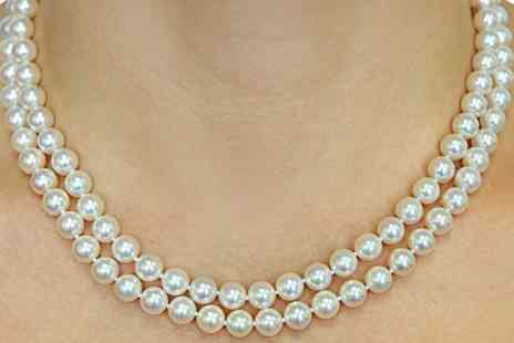 Groupon Goods Global GmbH - Faux Pearl Necklace - Save 0%