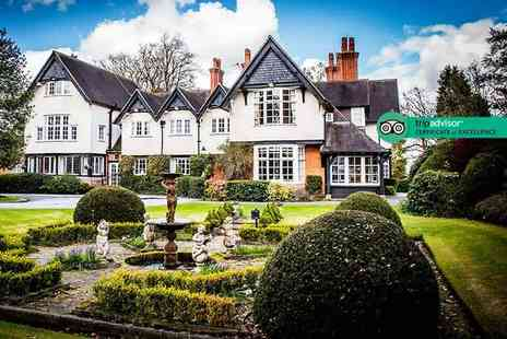 The Mere Court Hotel - Four Star Overnigh stay for two people with breakfast - Save 43%