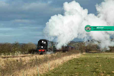 Churnet Valley Railway - Family ticket to the Churnet Valley Railway steam train experience - Save 47%
